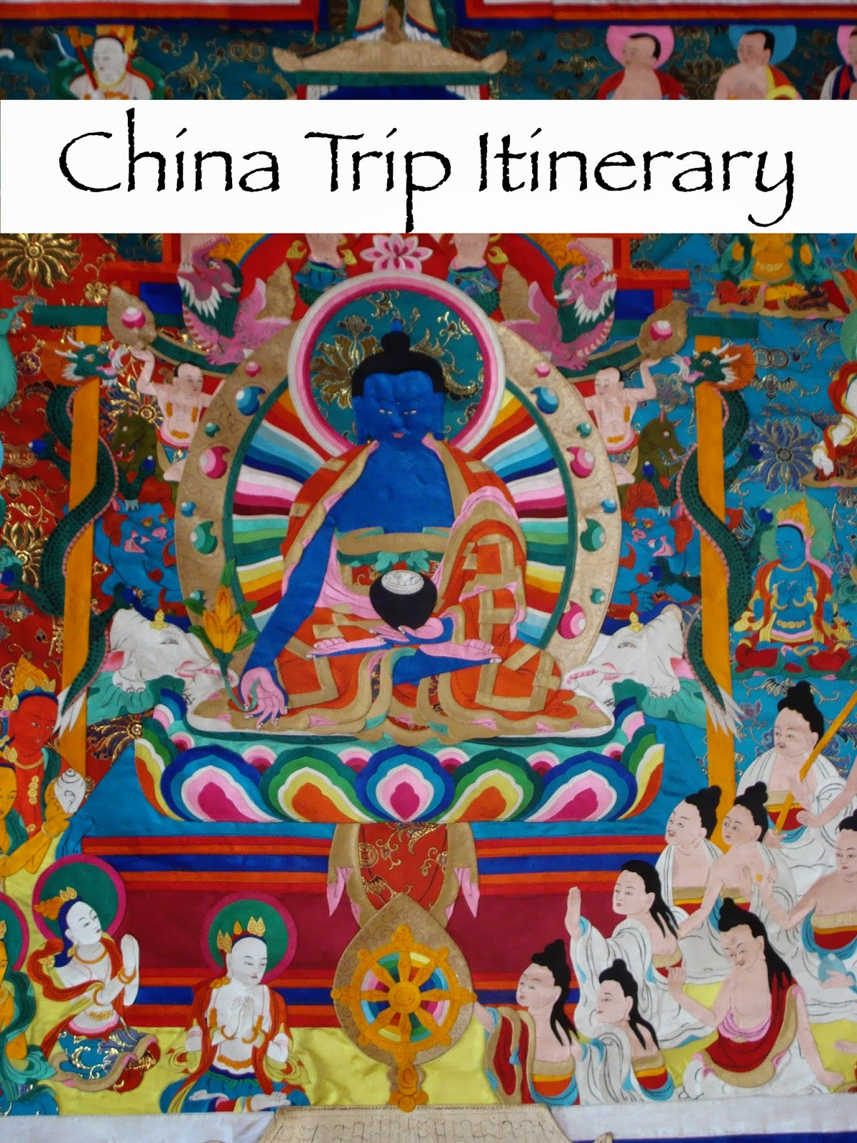 proposed china trip itinerary