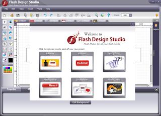 Flash Design Studio: Mudahnya Mendesain Flash