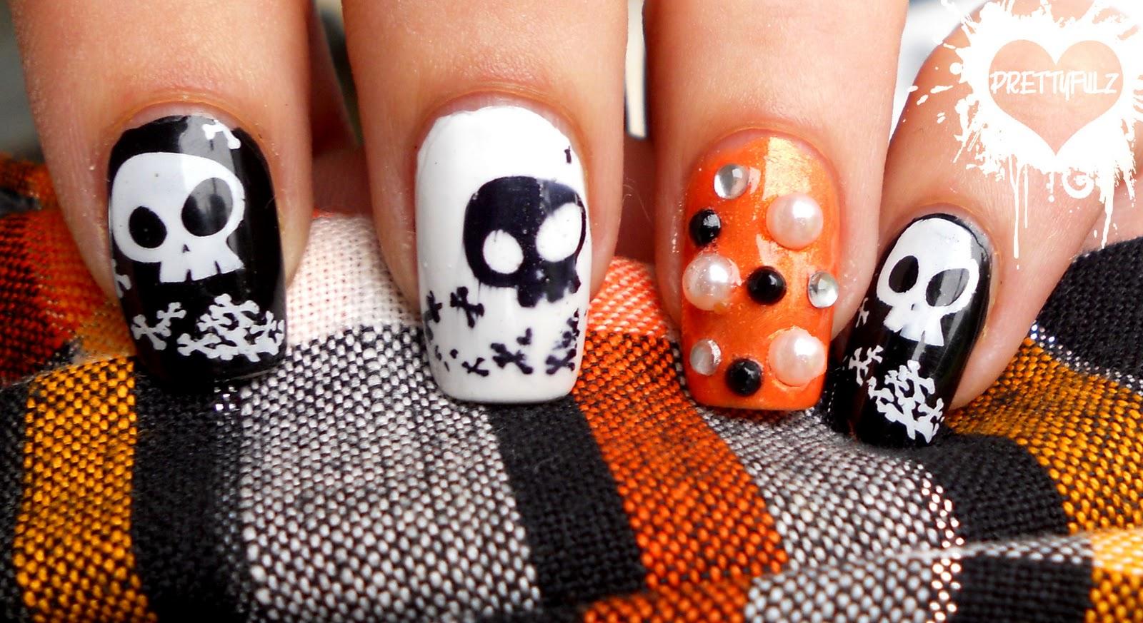 nails Halloween Nail Art