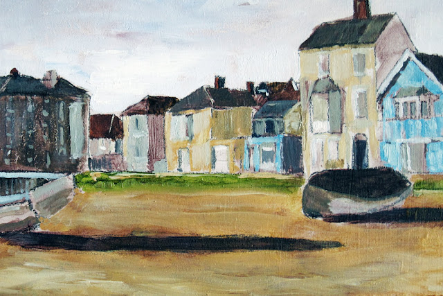 Aldburgh, Suffolk - Oil Painting by Tim Irving