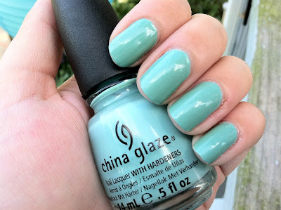 Tiffany, blue, nails, For Audrey