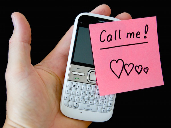 First phone call dating online
