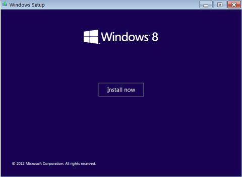 install windows 8 RTM