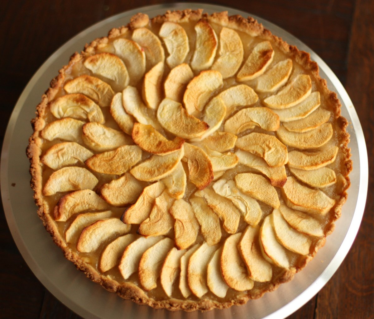 Half Baked: Normandy Apple Tart