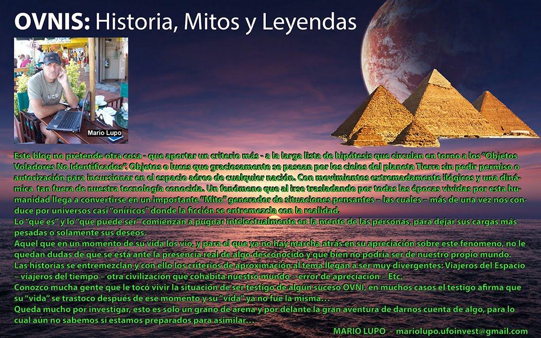 Ovnis: Historia, Mitos y Leyendas