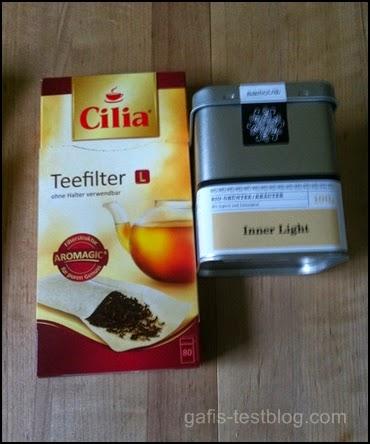 Cilia Teefilter und Samova Tee