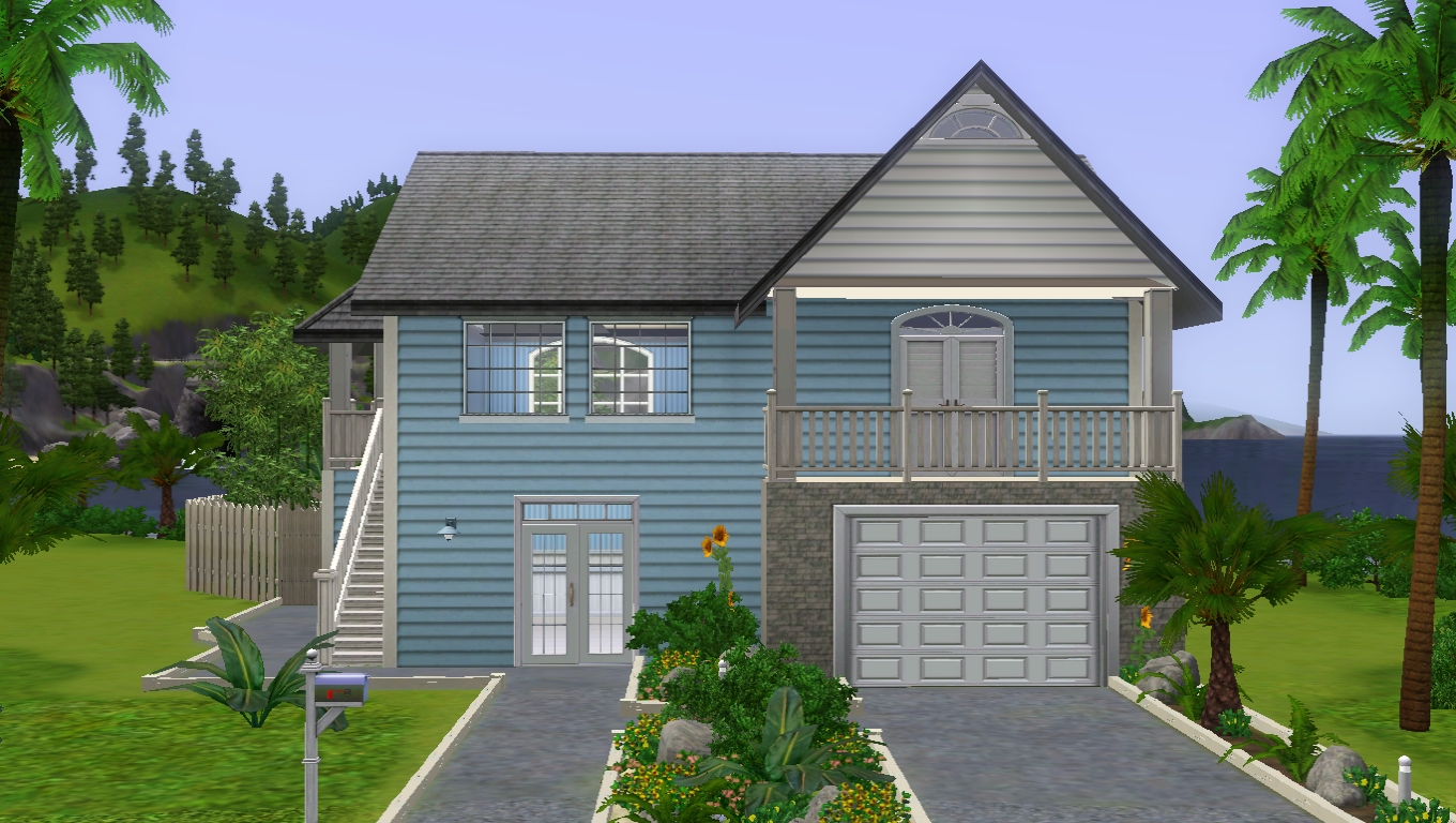 sims creations by deathnotesim classic beach house