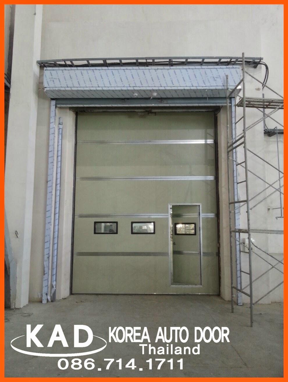 high speed door(ประตูอุตสาหกรรม) installed in GM UZ