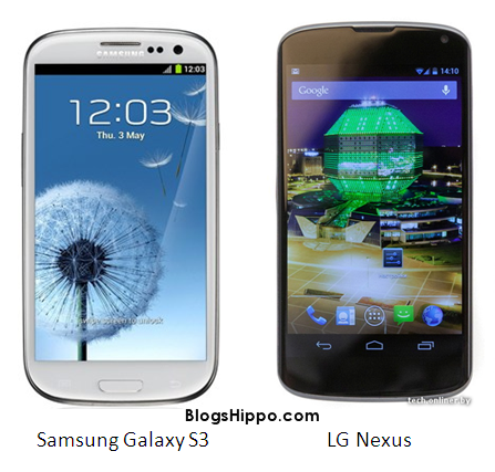 Samsung Galaxy S3 VS LG Nexus PROS CONS