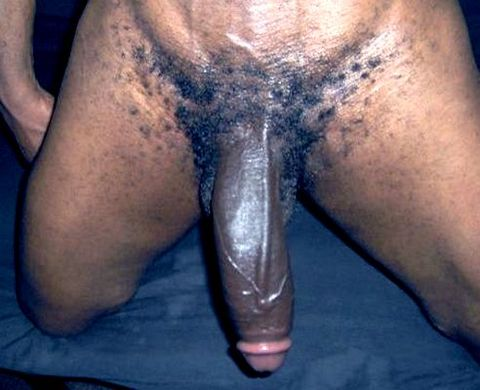 Sucking 10 Inches Of Straight Black Cock