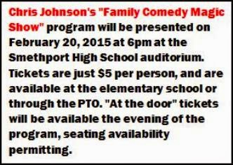 2-20 Family Comedy Majic Show