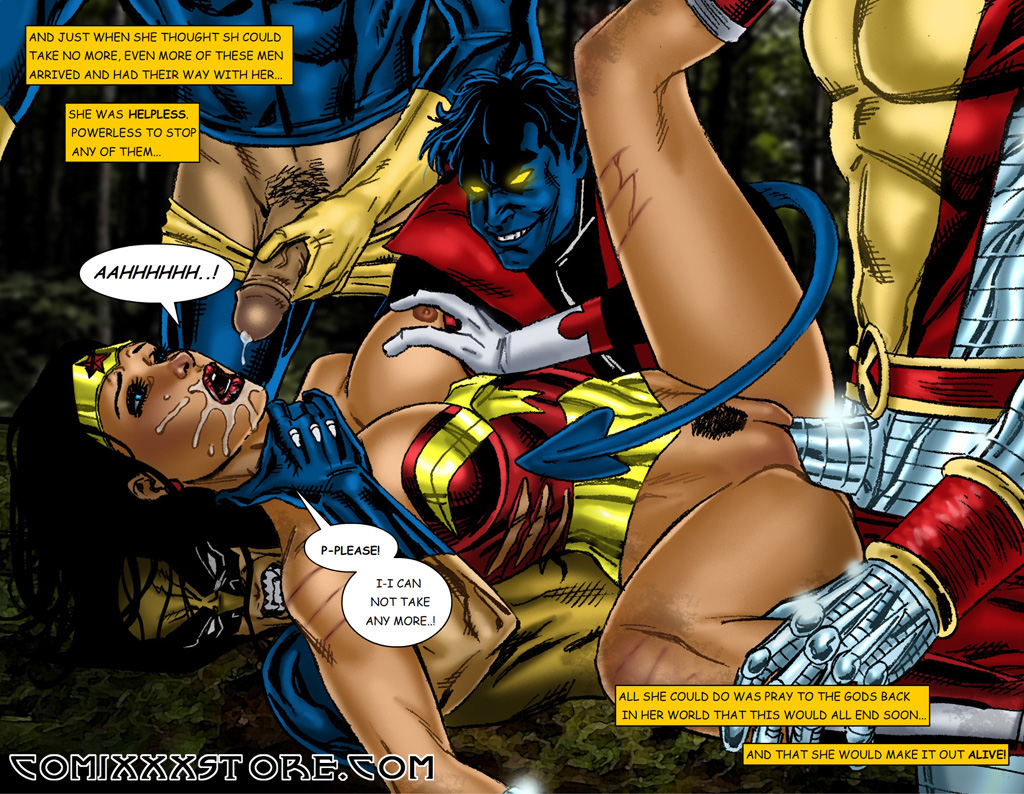 That wonder woman porn cum