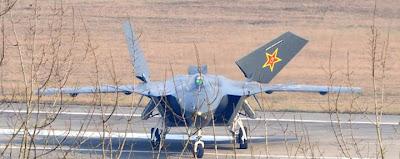 pesawat stealth cina Chengdu J20