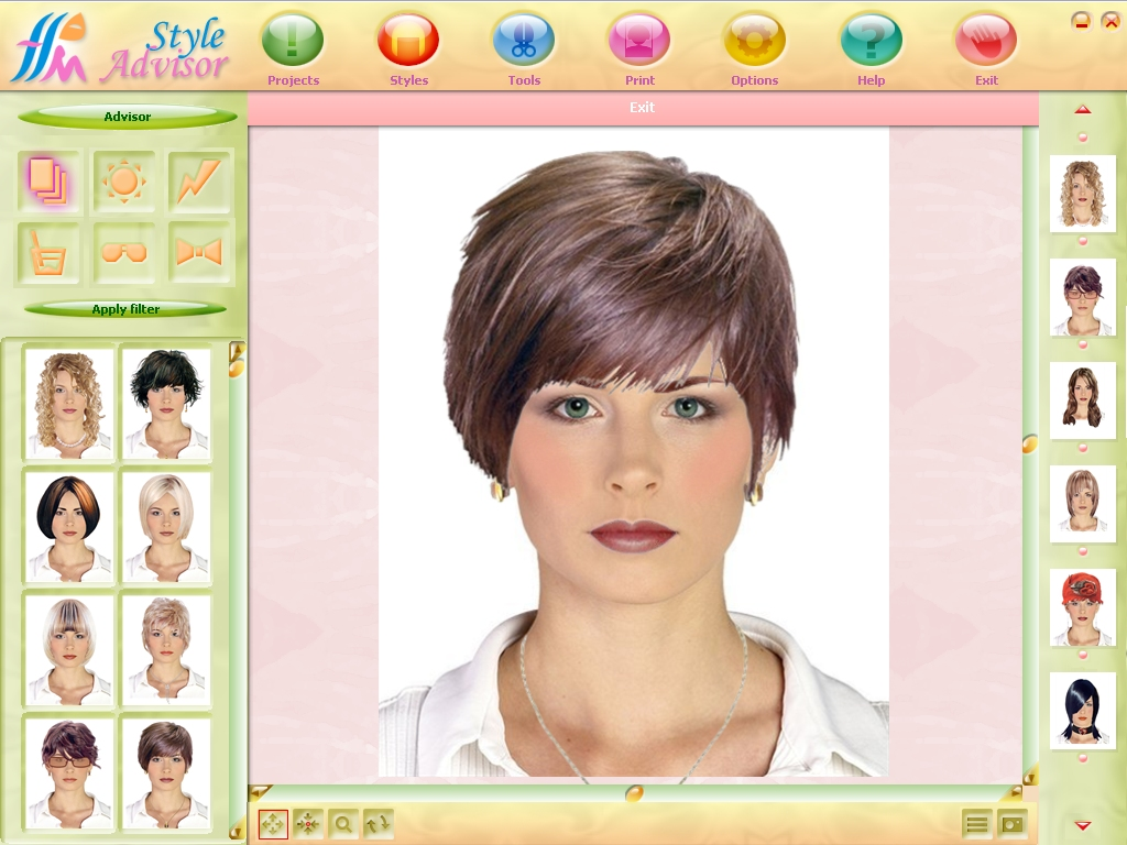 Virtual Hairstyle