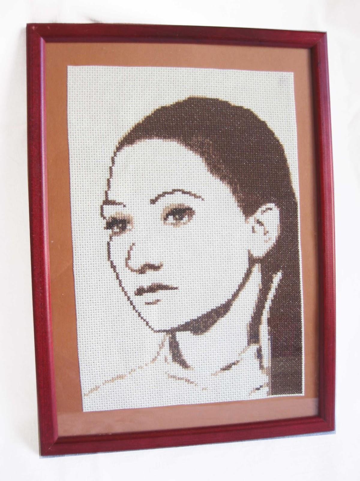 Как создать схему вышивки портрета крестиком. МАСТЕР КЛАСС, схема 93