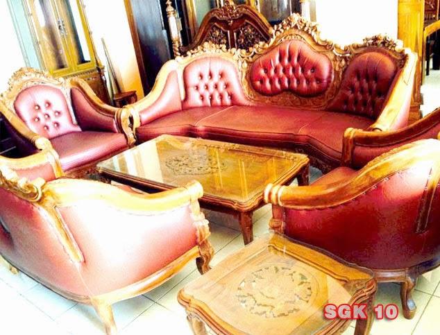 kursi tamu sofa mewah