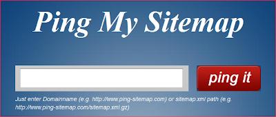 Ping sitemap