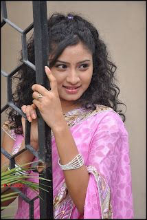 Vishnu Priya Latest Pictures in Saree at Prayaas Style Affair Launch  0028.jpg