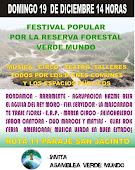Festival Popular por Verde Mundo