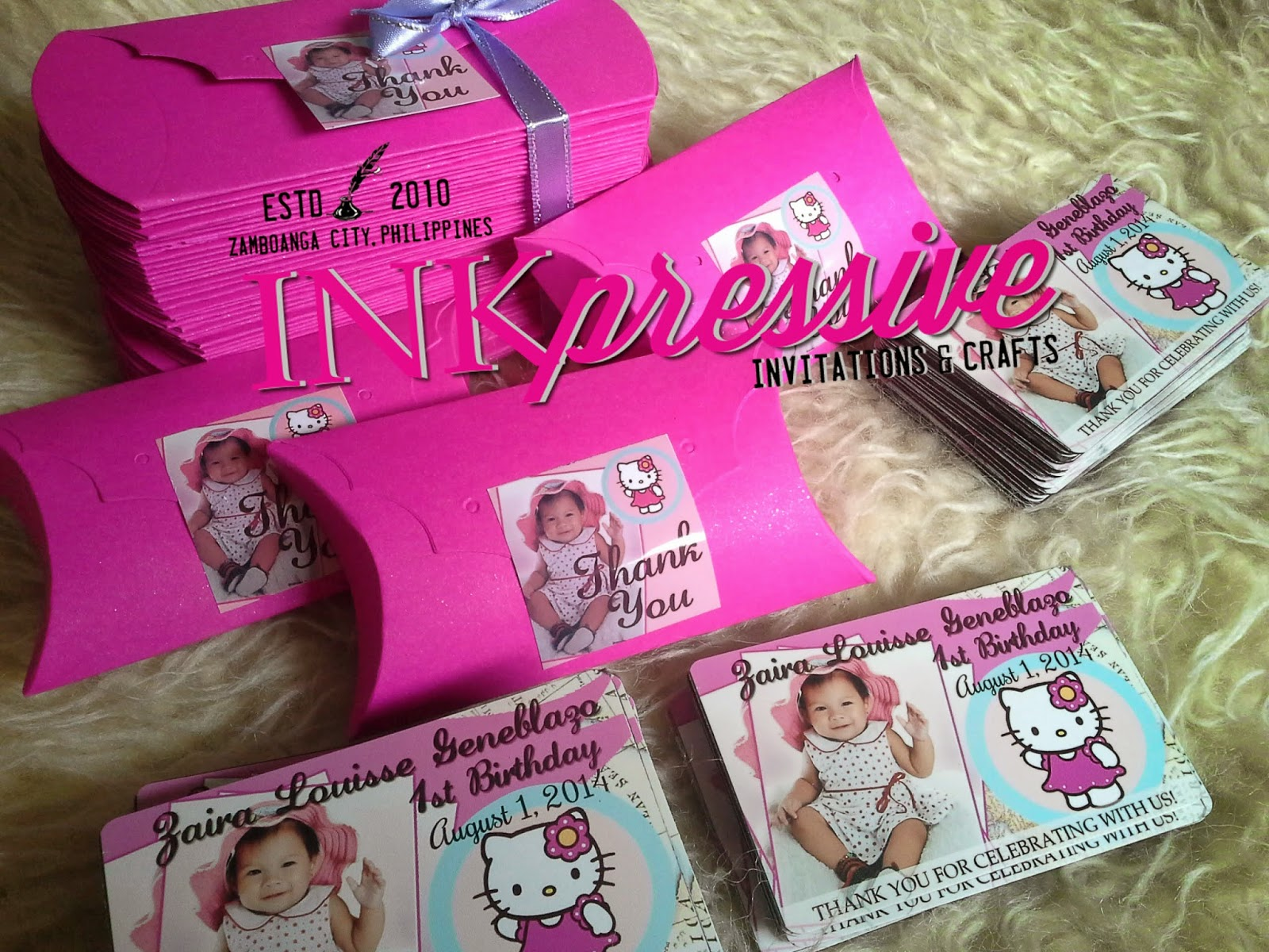 Party Souvenirs and Giveaways | INKPRESSIVE INVITATIONS
