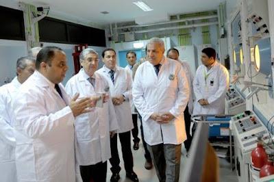 شروع إنتاج النظائر المشعة بمنطقة أنشاص