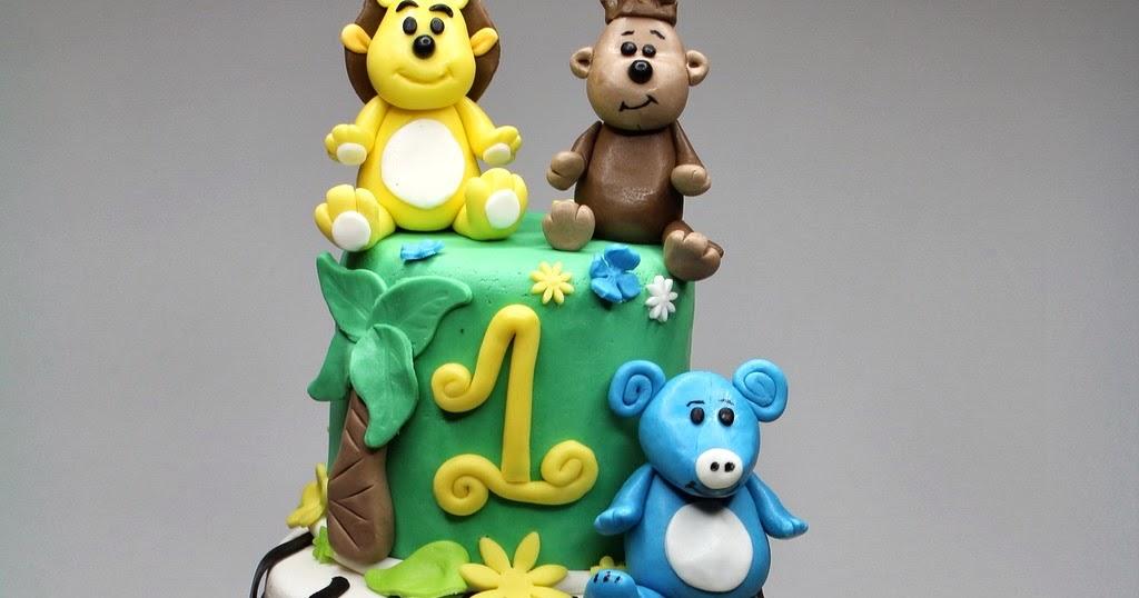 London Patisserie Raa Raa The Noisy Lion Birthday Cake