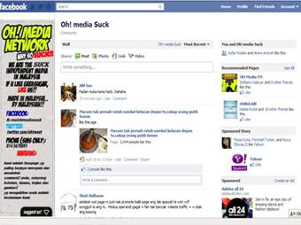 oh+media+suck Fan Page Oh! Media Network Kena Hacked! PANAS!!