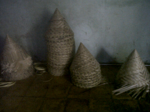 Kukusan bambu buatan Pak Mahmud