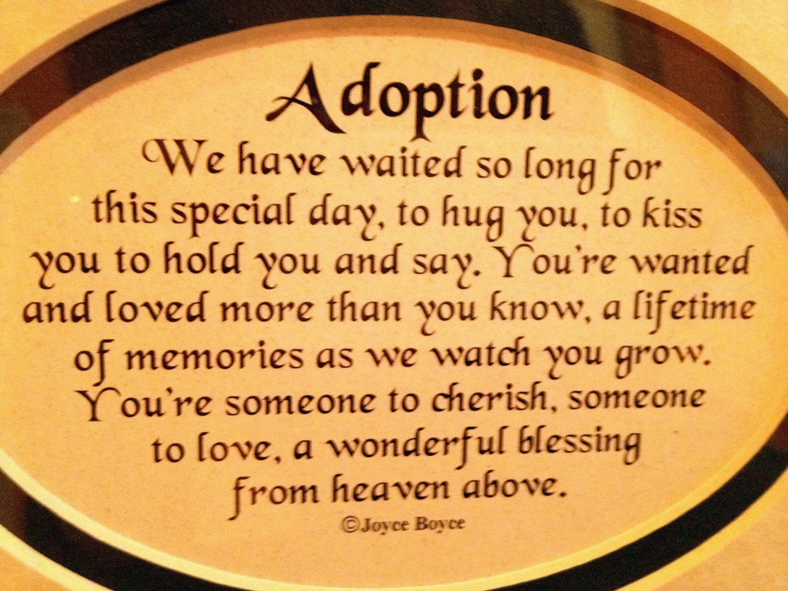 Adoption Quotes Czeshop  Images Adoptive Family Quotes