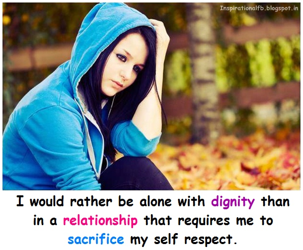 how to leave a relationship with dignity