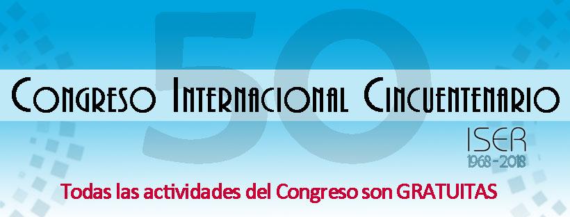 Congreso Cincuentenario ISER