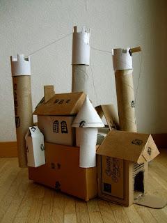 ของตกแต่งบ้านจากกระดาษรัง