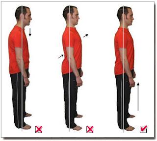 الوقفة المستقيمة تساعد على تحمل أكبر للألم