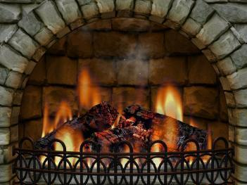 Fireplace Screensaver