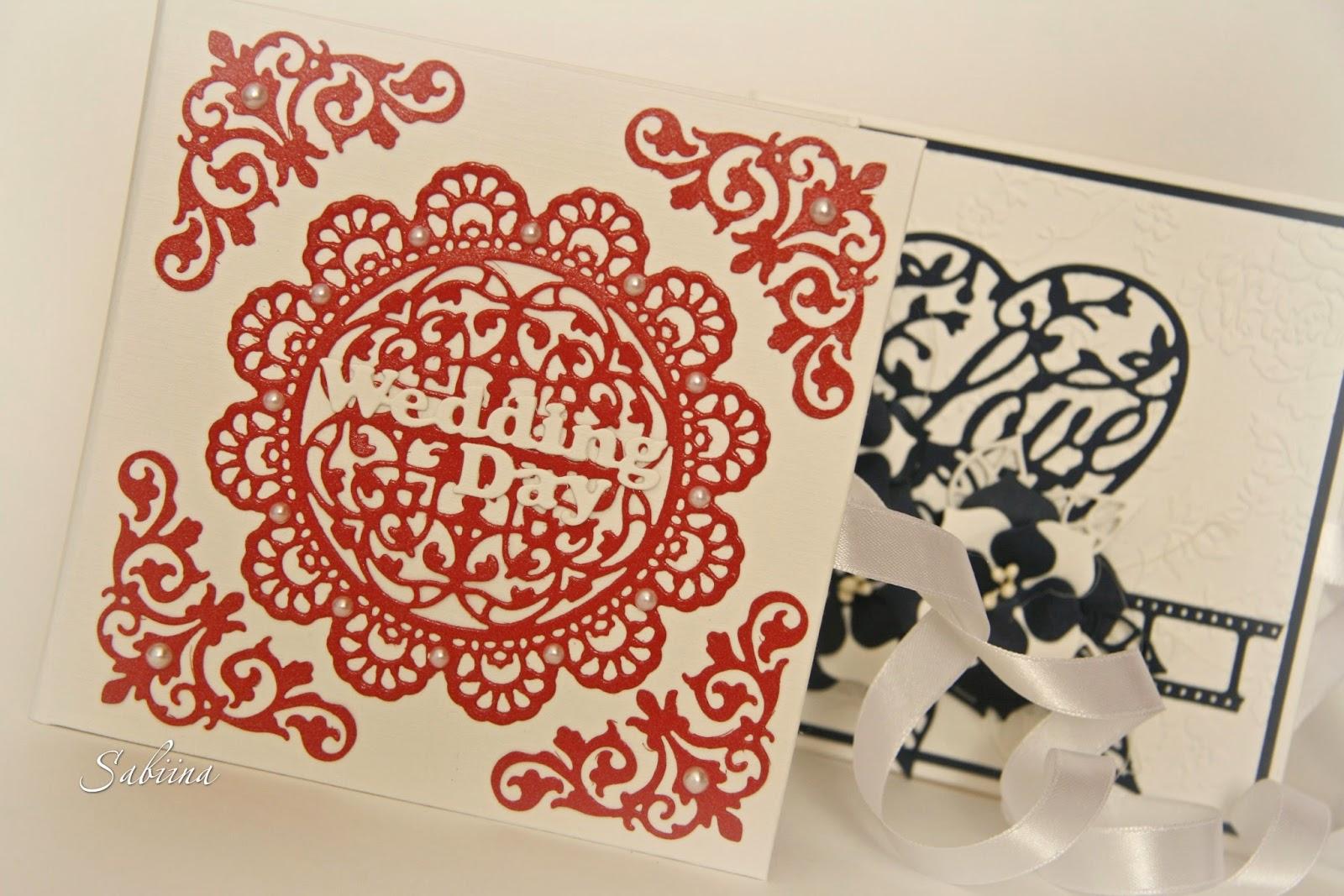 Wedding CD-box, обложка для свадебного диска ручной работы