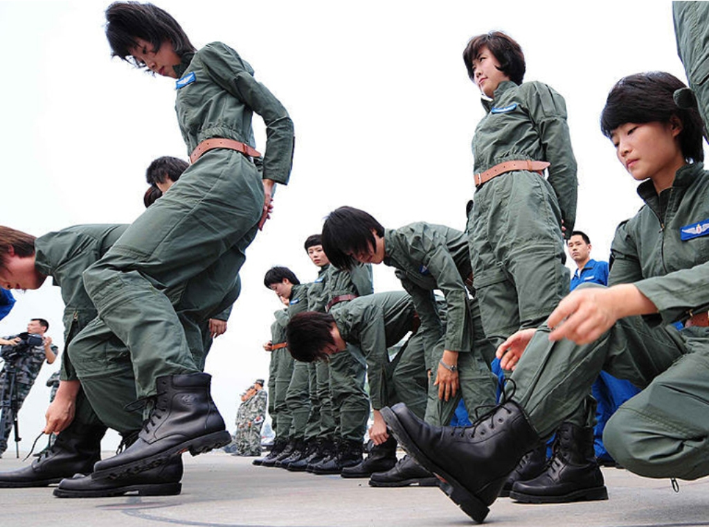 Porn chinese army women hot