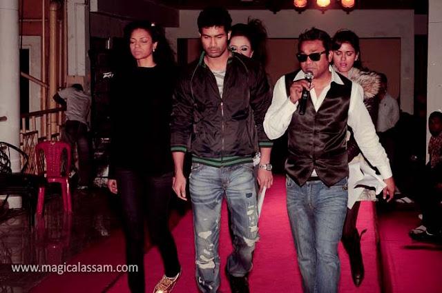 fashion show diganta hazarika