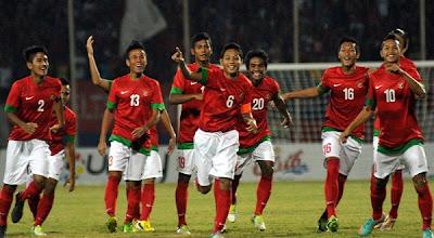 Indonesia vs Thailand 3-1 AFF U19 September 2013