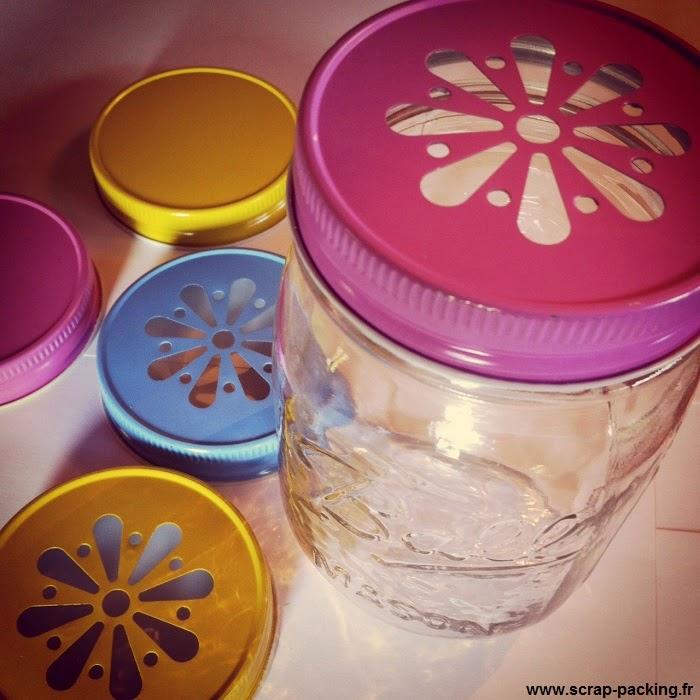 Couvercles Mason jar