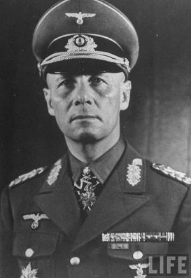 General ERWIN ROMMEL (15/11/1891 – 14/10/1944)