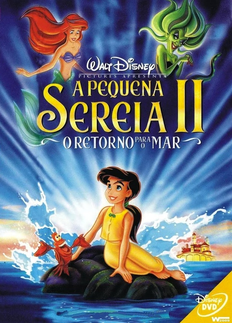 A Pequena Sereia 2: O Retorno Para o Mar – Dublado (2000)