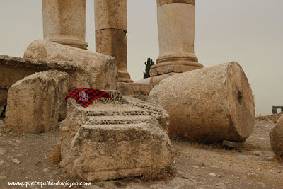 Ciudadela Amman - Viaje a Jordania