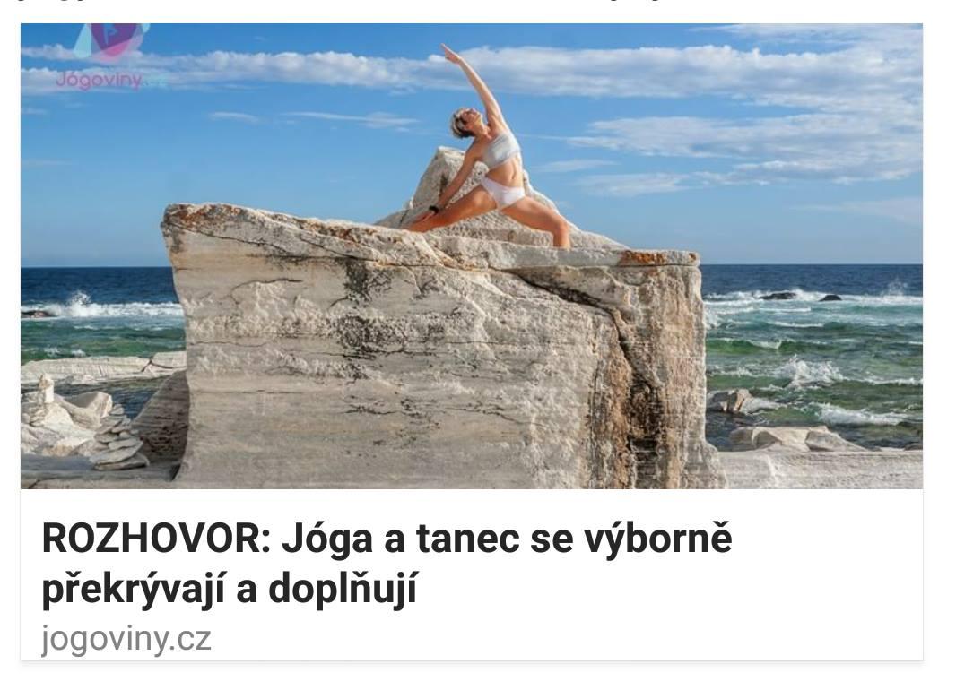 Rozhovor s Dash pro Jógoviny.cz