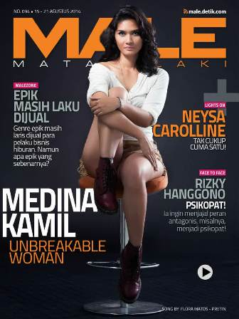 Download Gratis Majalah MALE Mata Lelaki Edisi 94 Cover Model Medina Kamil| MALE Mata Lelaki 94 Indonesia | Cover MALE 94 Medina Kamil | www.insight-zone.com