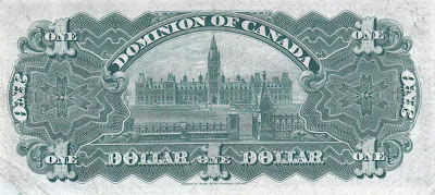 Canada currency money dollar Library of Parliament Ottawa