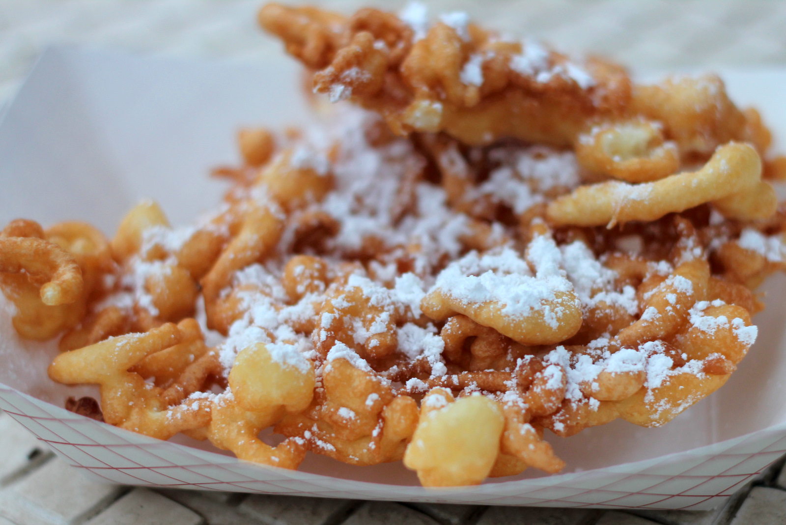 And the Funnel Cakes were LEGIT. Like, get 'em at the fair in all ...