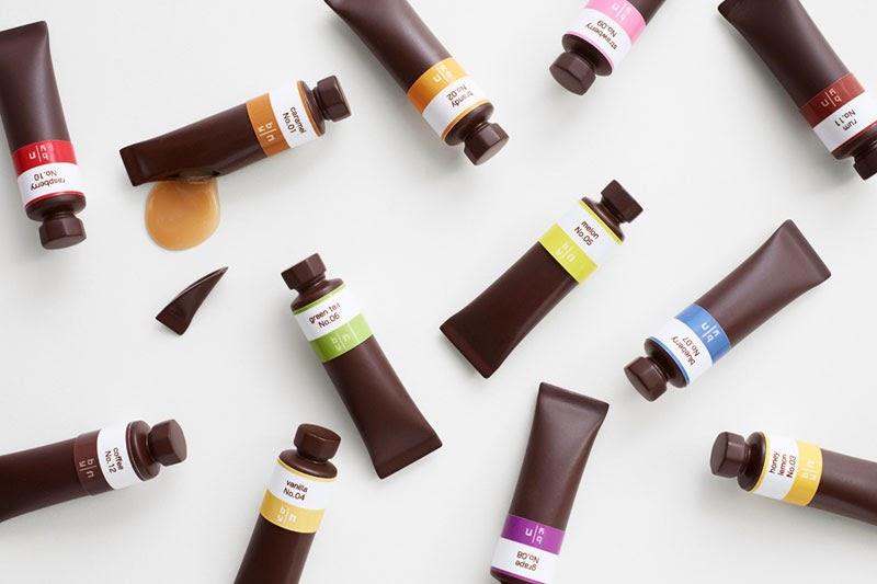 Las pinturas al óleo de chocolate creadas por Nendo