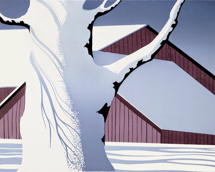 Oh By The Way BEAUTY Winter Paintings Eyvind Earle
