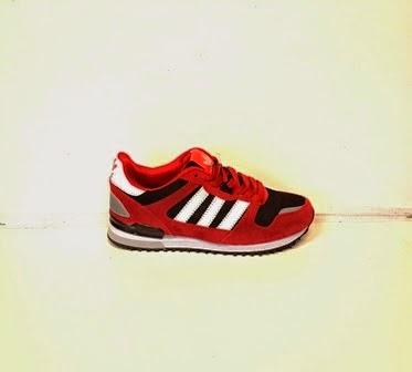 Sepatu Adidas 700ZX Women merah murah