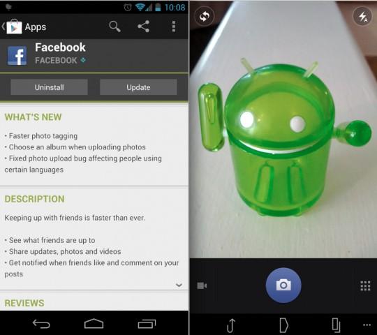 Update Terbaru Facebook untuk Android - memungkinkan Anda memilih album untuk upload foto